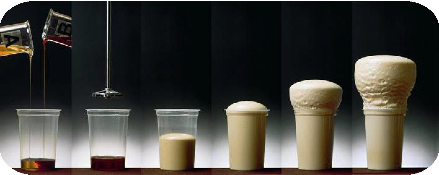 Composition de la mousse polyuréthane